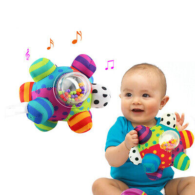 Little Loud Bell Ball Baby Colorful Learning Balls Kid Educational Soft Ball Toy • 9.99£