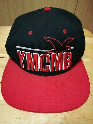 Mens Black/Red Baseball Hat By YMCMB(Young Money) • 2£