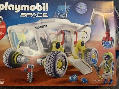 Playmobil Space Rover Shuttle Vehicle Set 9489 Boxed Christmas Toy Mission Mars • 5£