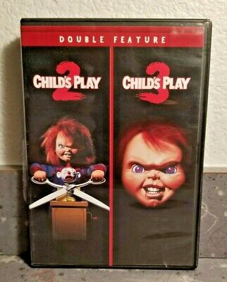 Child's Play 2 / Child's Play 3 (DVD Double Feature 2015) Free Shipping Like New • 7.86£