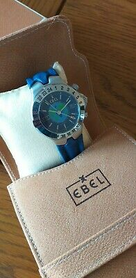EBEL Sportwave.GMT Worldtimer Automatic Gents Watch Box And Pouch  • 850£