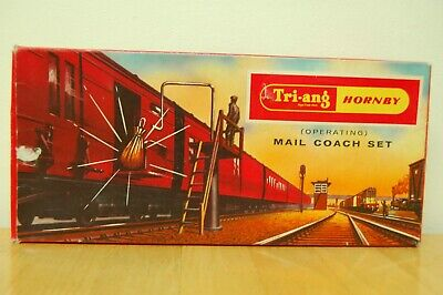 Vintage Tri-ang/hornby Oo Gauge Operating Royal Mail Coach Set R402 • 22.99£