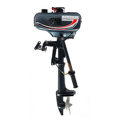AU311.99 • Buy 2-Stroke 3.5HP Heavy Duty Outboard Motor Boat Engine Water Cooling System AU !