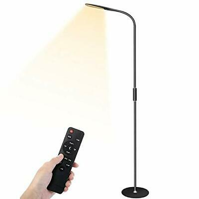 LED Floor/Reading/Standing Lamp, Dimmable For Living Room/Bedroom With Remote • 70.36£