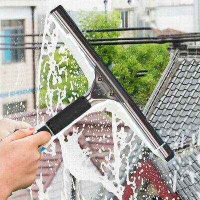 -Glass Window Cleaning Squeegee Blade Wiper Cleaner Home Shower Bathroom 25-45CM • 5.58£