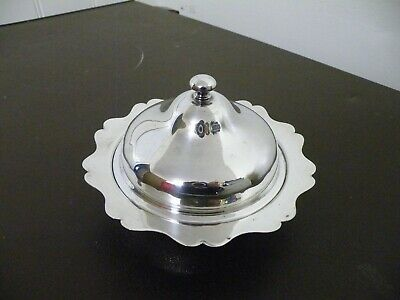 Vintage Silver Plated  Muffin Dish Entree Serving Dish Tureen   • 15£