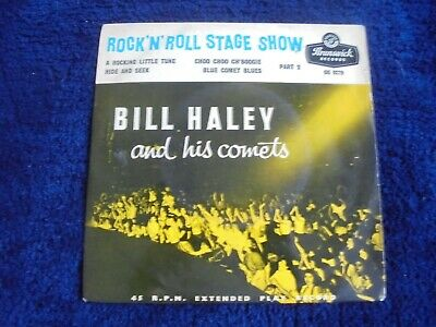Bill Haley And His Comets - Rock 'N Roll Stage Show Part 2 1956 UK EP BRUNSWICK • 3.99£