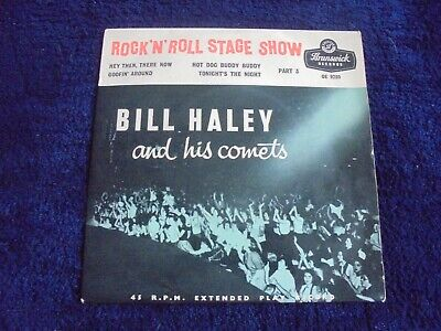 Bill Haley And His Comets - Rock 'N Roll Stage Show Part 3 1956 UK EP BRUNSWICK • 3.99£
