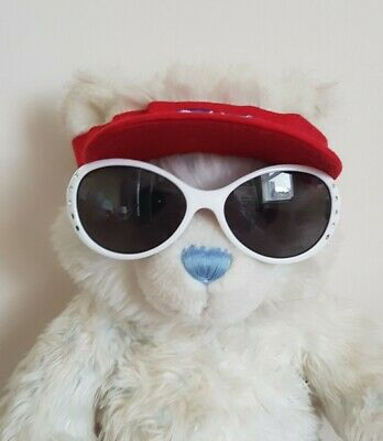 Build A Bear Cap/Hat With Union Jack And White Sunglasses Accessories • 1.40£