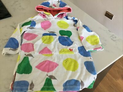 Mini Boden Girls Towelling Dress. Age 2 3  Throw On Swim Dress Cover Up Hoody • 12.99£