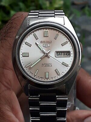 $ CDN13.69 • Buy Vintage Seiko 7009-3041 Automatic 17Jewels Men's Wristwatch