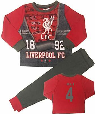 Boys Liverpool Football Club Pyjamas Pjs Can Be Personalised Age 3 To 12 • 8.50£