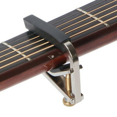 $ CDN5.20 • Buy Metal Capo Tuner Chromeplate Capo Musical Instrument Accessories For Guitar L .