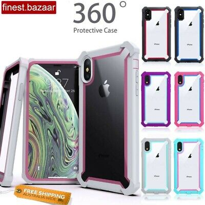 AU9.95 • Buy Shockproof Heavy Duty Case Cover For IPhone 6 6S 7 8 Plus 11 12 Pro XS Max XR X