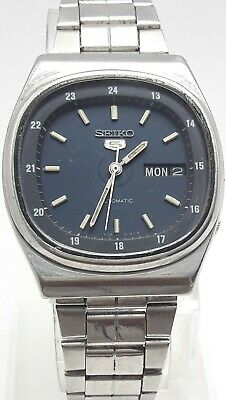 $ CDN36.33 • Buy Vintage Seiko 5 6309-510a A5 Railway Automatic 17j Japan Men's Watch (2429)