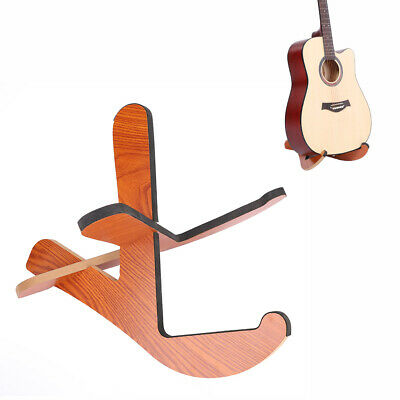$ CDN31.75 • Buy Detachable Acoustic Guitar Wooden Stand Frame Floor Rack Holder Portable Stand
