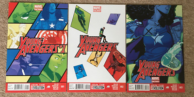 Young Avengers 1 + 2 + 3 • 6.99£