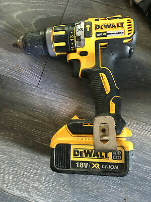 DeWalt  DCD795 BRUSHLESS Drill With 4.0Ah Battery • 67£