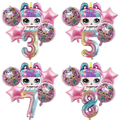 £11.99 • Buy LOL Surprise Balloons Party Decorations Princess Pink Lol Dolls Unicorn Rainbow