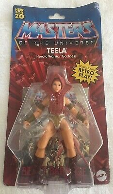 $19.93 • Buy He-Man Masters Of The Universe Teela Origins Retro Play Mattel MOTU, New