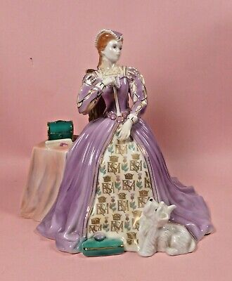 Royal Worcester Figure  Mary Queen Of Scots  Rw4701 - Perfect  • 43£