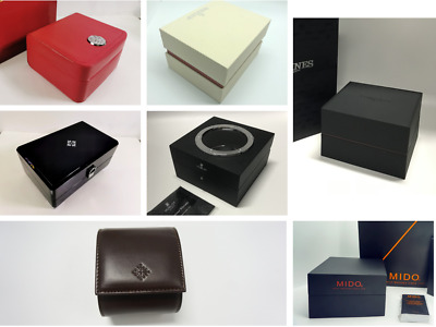 Watch Box Case With  Gift Bags For Gifts Or Collections  Brand New • 56.99£