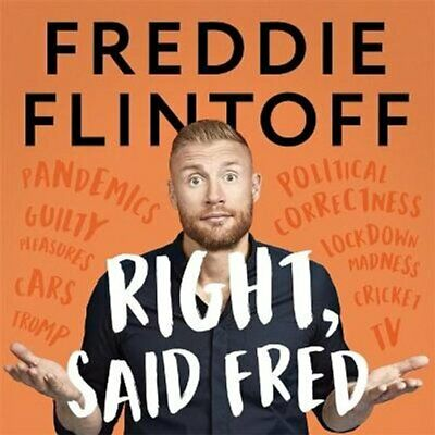 Right, Said Fred By Andrew Flintoff 9781788703949 | Brand New | Free UK Shipping • 17.98£
