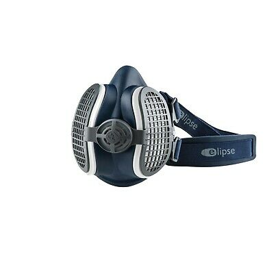 GVS Elipse SPR299 P3 Reusable Half Mask Small/Medium With Filters Made In The UK • 21.70£
