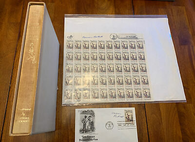 """$ CDN651.70 • Buy Signed Norman Rockwell """"The Adventures Of Tom Sawyer By Mark Twain Set"""""""