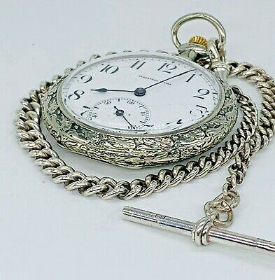 Cyma Movement Pocket Watch Signed Alexandre Weise • 200£
