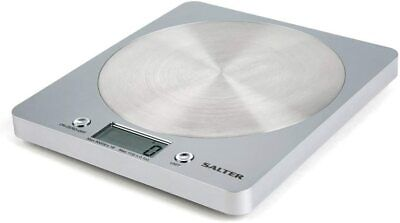 Salter Digital Kitchen Weighing Scales - Slim Design Electronic Cooking For Home • 20.45£
