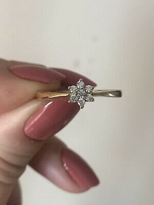 9ct Gold Ring Size V Fully Hallmarked Not Scrap • 27£