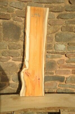 Yew Board 2 Live Edges, Dry, Flat & Straight, Planed R296 • 28£