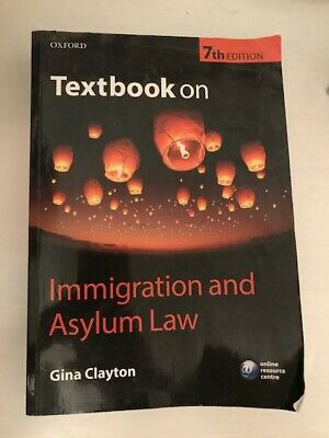 Textbook On Immigration And Asylum Law 7/e, Clayton, Gina, Used; Good Book • 19.50£