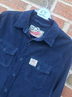Superdry Cord Shirt Size Large • 10£