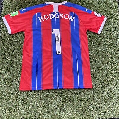 ROY HODGSON SIGNED CRYSTAL PALACE 2019/2020 Shirt BNWT ***WITH EXACT PROOF*** • 119.99£
