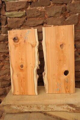 2 Yew Boards With Live Edges R314 • 25£