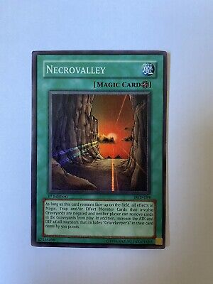 Yugioh / Necrovalley - PGD-084 - 1st Edition - Ultra Rare! NM • 25£