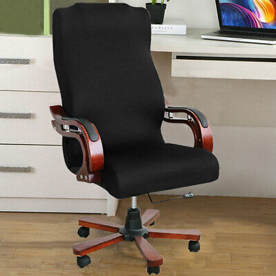 AU28.19 • Buy Stretch Computer Office Chair Covers Slipcovers Desk Rotat Seat Cover Protector