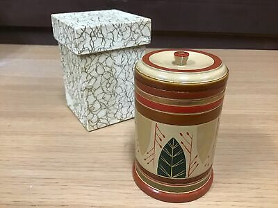 £55.97 • Buy Y0705 TEA CADDY Makie Lacquer Painting Box Japanese TEA Ceremony Antique