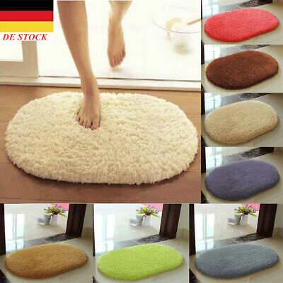 Bathroom Shower Rug Non-slip Absorbent Soft  Bedroom Door Floor Mat Carpet UK • 9.99£