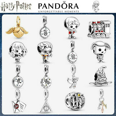 Pandora Harry Potter Authentic Sterling Silver ALE S925 Genuine Charm + Gift Box • 13.99£