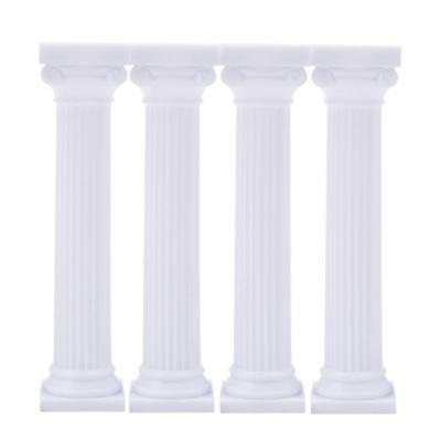 £3.74 • Buy Grecian Pillars Wedding Party Tier Cake Stand Handle Rod Support Kit Fitting YW