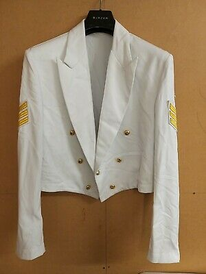 British RAF Military No8 Tropical Mess Dress Ceremonial Jacket Tunic & Buttons • 42.25£