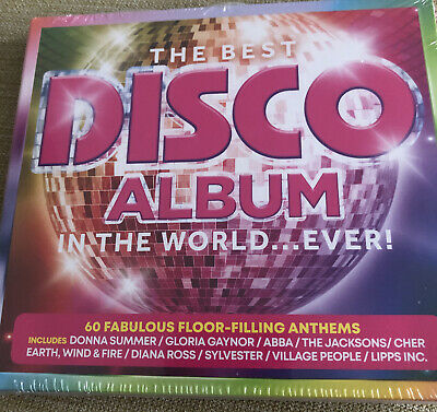 The Best Disco Album In The World...Ever! - (Various Artists) [New & Sealed] 3CD • 3.99£