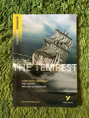 The Tempest: York Notes Advanced By Professor Loreto Todd (Paperback, 2003) • 7£