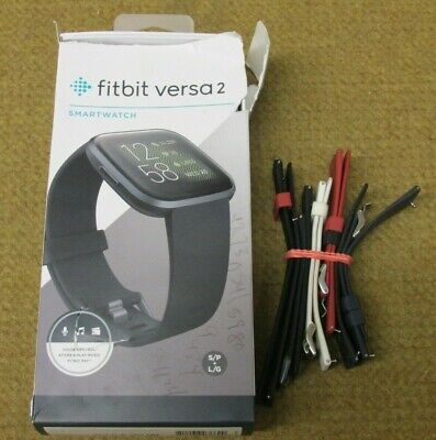 $ CDN44.32 • Buy Fitbit Versa 2 Health And Fitness Smartwatch W/ 6 Bands & Box