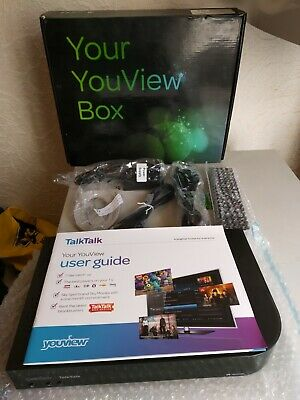 Talk Talk Youview Box Huawei DN370T 320GB PVR DUAL TUNER HD RECORDER • 50£
