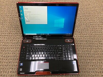 View Details Toshiba Qosmio X505-Q8104X Intel I7 - 8GB - Windows 10 2x500GB HDD, With Charger • 399.00$