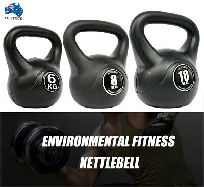 AU33.99 • Buy 6KG-10KG Kettlebell - Home Gym Kettlebell Weight Fitness Exercises Energetics AU